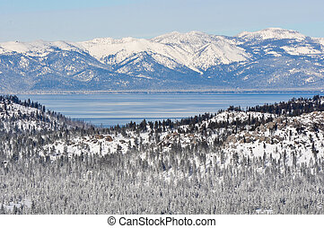 Lake Tahoe California in Winter