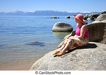 Lake Tahoe, California.
