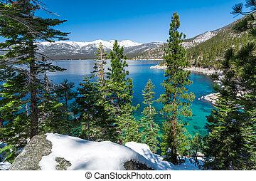 Lake Tahoe shorline