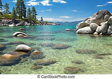 Lake Tahoe beach