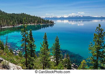Lake Tahoe - East shore of beautiful Lake Tahoe