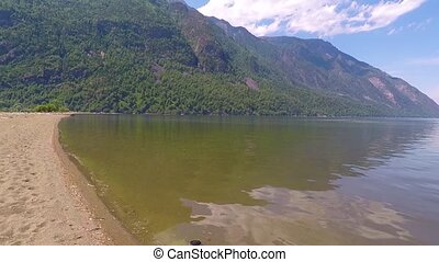 Lake Teletskoe. Altai mountains