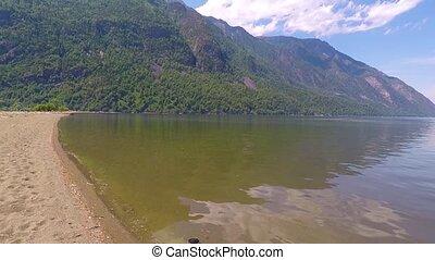 Lake Teletskoe. Altai mountains Siberia Russia