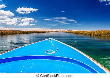 Lake Titicaca Canals