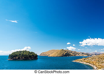 Lake Titicaca Landscape