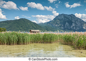 Lake Traunsee in Austria