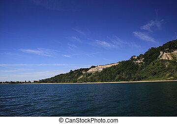 Lake view of Scarborough Bluffs