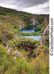 Lake viewpoint Plitvice