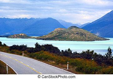 Lake Wakatipu New Zealand NZ NZL
