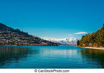Lake Wakatipu - Queenstown - South Island - New Zealand
