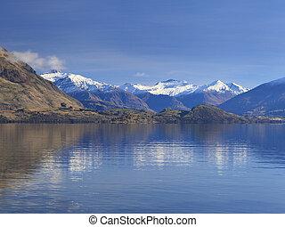 Lake Wanaka, Otago, New Zealand.