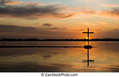 Lake Water Cross