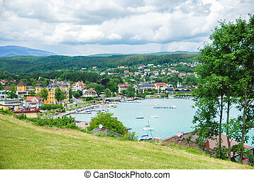 Lake Woertheree Austria, Carinthia
