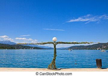 Lake Worth (Worthersee). Austria