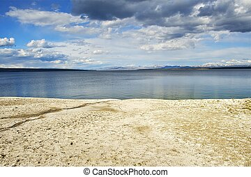 Lake Yellowstone Scenery
