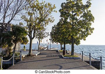 Lakefront of Bardolino.