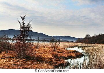 Lakes scene