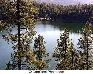 lakeside, cabina