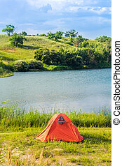 lakeside, campground