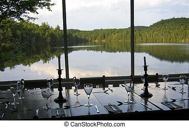 lakeside, jantar