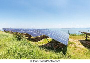 lakeside, paneles solares
