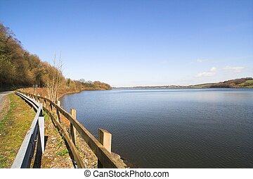 lakeside, paysage