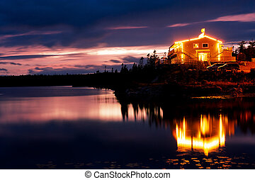 Lakeside retreat
