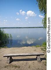 lakeside, vide, banc