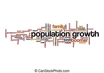 lakosság, bottleneck, fogalom, felhő