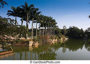 Lal bagh gardens, Bangalore, India