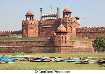 Lal Qila Stock Photo Images 138 Lal Qila Royalty Free Pictures And
