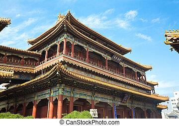 lama, templo, beijing
