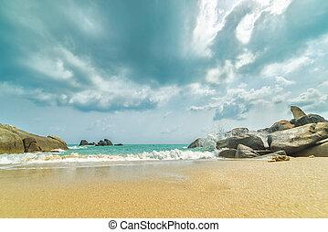 lamai, playa., thailand., samui., koh