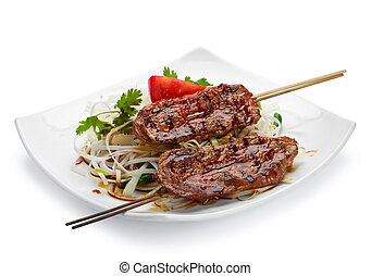 Lamb grilled meat