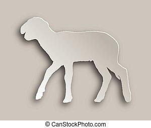 Lamb paper style