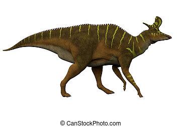 Lambeosaurus Side Profile