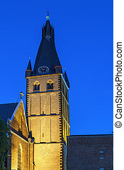 lambertus de st, basílica, dusseldorf, alemania