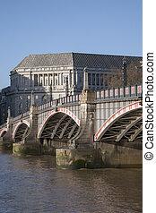lambeth most, i, rzeka thames, westminster, londyn