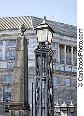 lambeth most, słup latarni, londyn