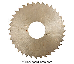 lame scie circulaire, pour, bois