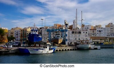 L?Ametlla de Mar near Tarragona, Costa Dorada, Catalonia in...