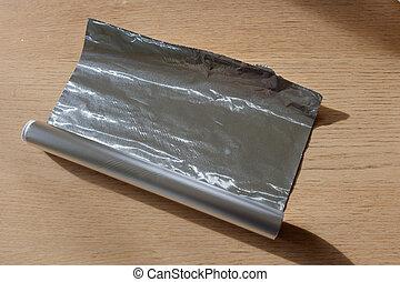 lamina, rotolo, alluminio