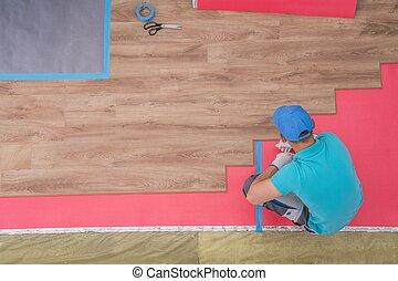 laminate, installation plancher