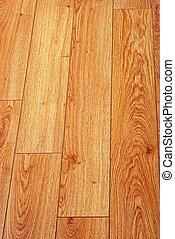 laminate, madeira, pavimentando