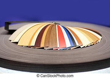 Laminate samples - Collection of different samples of a film...