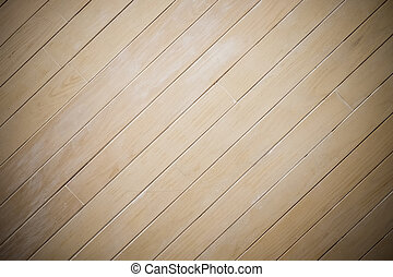 Laminate wood wall texture background, center spotlight, darken edge, diagonal pattern