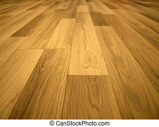 Laminated flooring board. Background