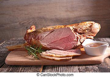 lamm, stek