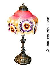 lamp, bloem