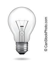 Lamp Bulb - Light bulb. Vector illustration